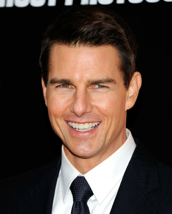 Actor Tom Cruise attends the U.S. premiere of 'Mission: Impossible - Ghost Protocol' at the Ziegfeld Theatre on Monday, Dec.19, 2011 in New York.