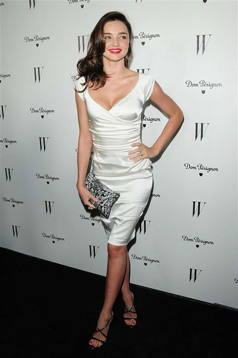 Miranda Kerr appears at a W Magazine celebration for its Best Performances Issue and The Golden Globes in Los Angeles on Jan. 13, 2012. <span class=meta>(Michael Williams&#47;startraksphoto.com)</span>