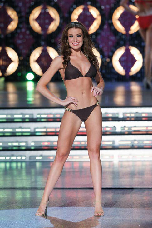 Miss Illinois, Hannah Smith appears in the swimsuit competition of &#39;The 2012 Miss America Pageant&#39; telecast live from the Planet Hollywood Resort and Casino in Las Vegas on Saturday, January 14, 2012 at 9 p.m. ET on ABC.  <span class=meta>(ABC Photo&#47; Craig Sjodin)</span>