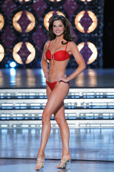 Miss Louisiana, Hope Anderson appears in the swimsuit competition of 'The 2012 Miss America Pageant' telecast live from the Planet Hollywood Resort and Casino in Las Vegas on Saturday, January 14, 2012 at 9 p.m. ET on ABC.