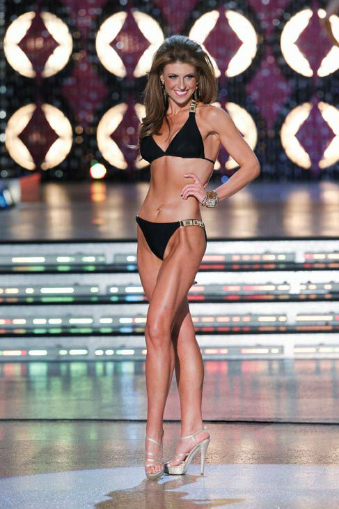 "<div class=""meta ""><span class=""caption-text "">Miss South Carolina, Bree Boyce appears in the swimsuit competition of 'The 2012 Miss America Pageant' telecast live from the Planet Hollywood Resort and Casino in Las Vegas on Saturday, January 14, 2012 at 9 p.m. ET on ABC. (ABC Photo/ Craig Sjodin)</span></div>"