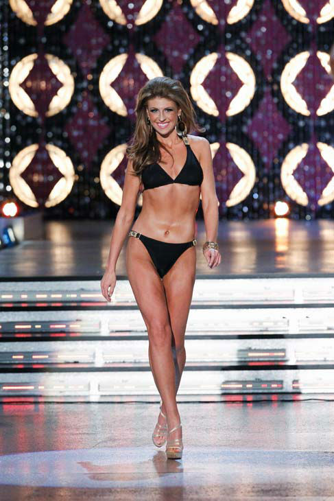 Miss South Carolina, Bree Boyce appears in the swimsuit competition of 'The 2012 Miss America Pageant' telecast live from the Planet Hollywood Resort and Casino in Las Vegas on Saturday, January 14, 2012 at 9 p.m. ET on ABC.