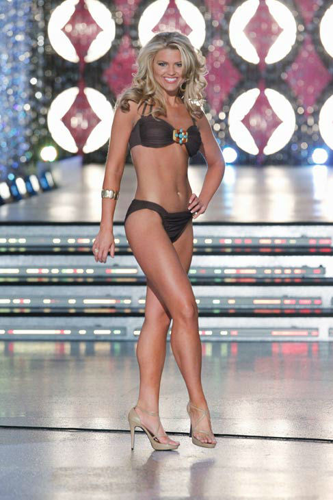 Miss Tennessee, Erin Hatley appears in the swimsuit competition of 'The 2012 Miss America Pageant' telecast live from the Planet Hollywood Resort and Casino in Las Vegas on Saturday, January 14, 2012 at 9 p.m. ET on ABC.