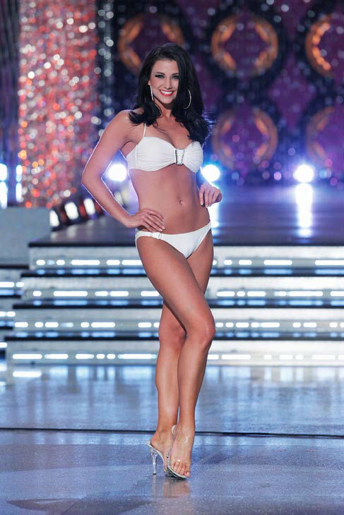 Miss Wisconsin, Laura Kaeppeler appears in the swimsuit competition of &#39;The 2012 Miss America Pageant&#39; telecast live from the Planet Hollywood Resort and Casino in Las Vegas on Saturday, January 14, 2012 at 9 p.m. ET on ABC. <span class=meta>(ABC Photo&#47; Craig Sjodin)</span>