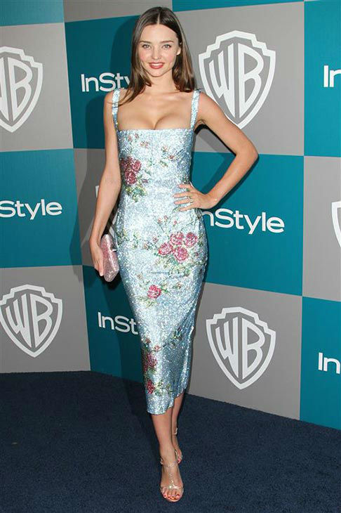 Miranda Kerr appears at the 2012 InStyle and Warner Brothers Golden Globe After Party on Jan. 15, 2012.  <span class=meta>(Norman Scott&#47;startraksphoto.com)</span>