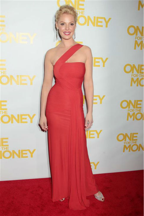 Katherine Heigl appears at a screening for her movie &#39;One For The Money&#39; in New York on Jan. 24, 2012. <span class=meta>(Dave Allocca &#47; Startraksphoto.com)</span>