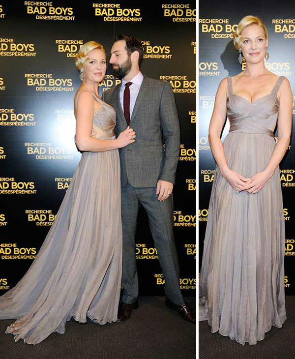 Katherine Heigl appears with husband Josh Kelley at the premiere of her movie &#39;&#39;One For The Money&#39; in Paris on Jan. 31, 2012. <span class=meta>(Alban Wyters &#47; ABACA &#47; Startraksphoto.com)</span>