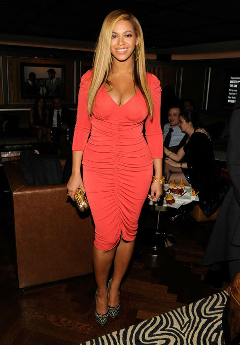 Beyonce attends the after party following...