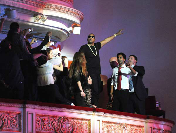 New York: Rapper and producer Jay-Z is also originally from Brooklyn.  &#40;Pictured: Jay-Z performs at Carnegie Hall to Benefit the United Way of New York City and the Shawn Carter Foundation on February 6, 2012 in New York City.&#41; <span class=meta>(Kevin Mazur&#47;WireImage)</span>