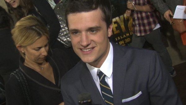 Josh Hutcherson was invited by People magazine. &#40;Pictured: Josh Hutcherson talks about his new 2012 film &#39;Journey 2: The Mysterious Island&#39; with OnTheRedCarpet.com at the February 2, 2012 premiere.&#41;  <span class=meta>(OTRC)</span>