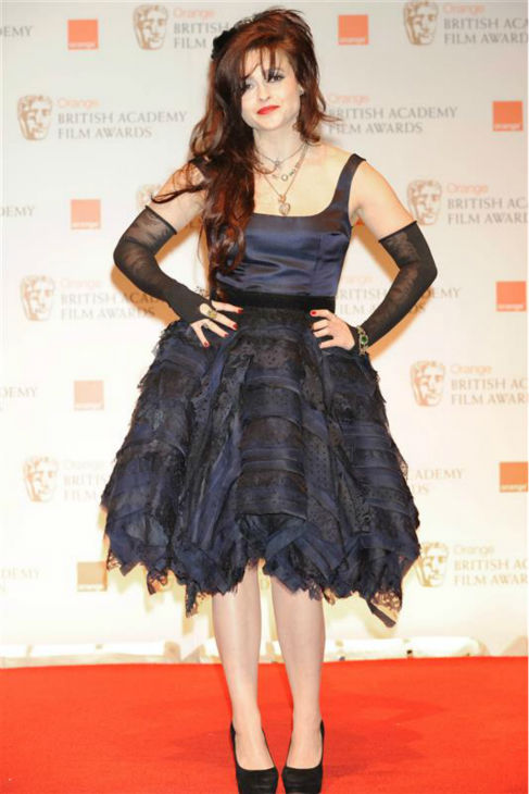 Helena Bonham Carter appears at the 2012 Orange British Academy Film Awards at the Royal Opera House in London on Feb. 12, 2012. <span class=meta>(Richard Kendal &#47; Startraksphoto.com)</span>