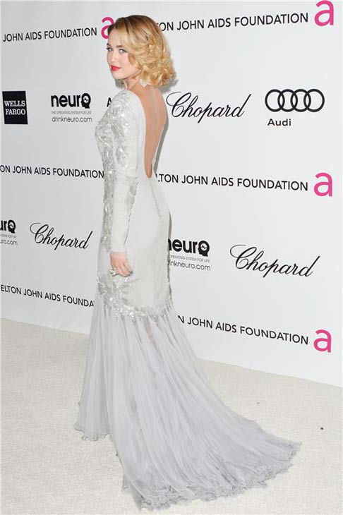 Miley Cyrus appears at the 20th annual Elton John AIDS Foundation Academy Awards viewing party in Los Angeles, California on Feb. 26, 2012.  <span class=meta>(Tony DiMaio &#47; startraksphoto.com)</span>