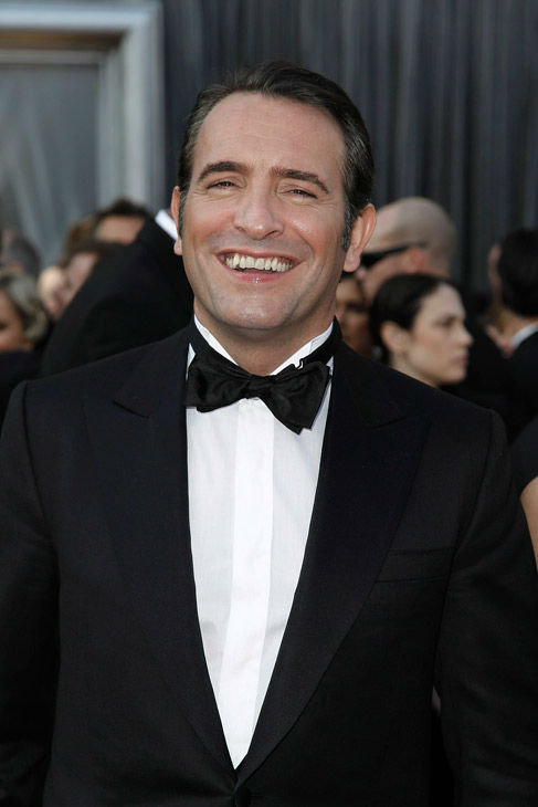 Jean Dujardin arrives before the 84th Academy Awards on Sunday, Feb. 26, 2012, in the Hollywood section of Los Angeles.  <span class=meta>(AP Photo&#47; Matt Sayles)</span>