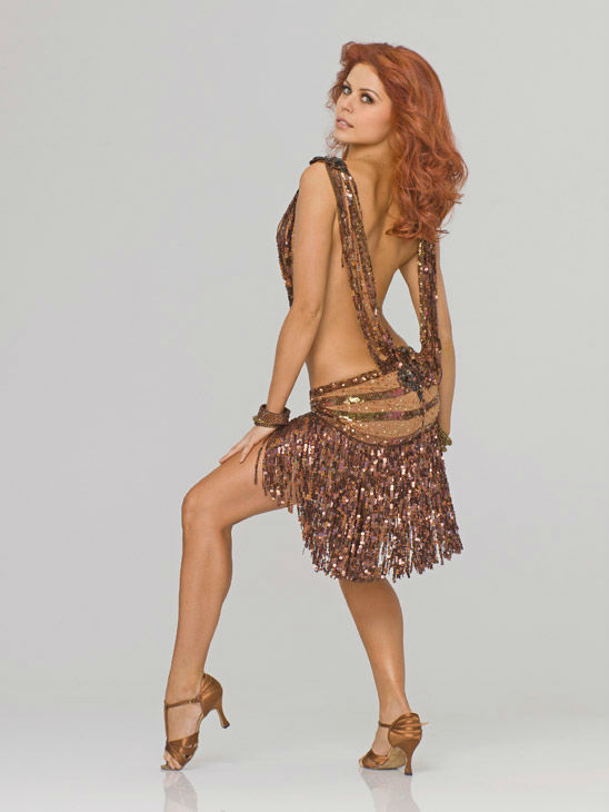 Anna Trebunskaya appears in an official cast photo for 'Dancing With The Stars' season 14.