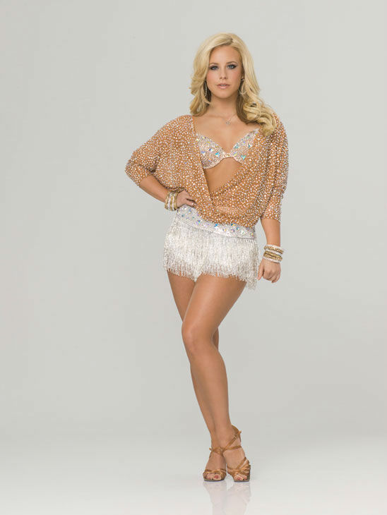 "<div class=""meta ""><span class=""caption-text "">Chelsie Hightower appears in an official cast photo for 'Dancing With The Stars' season 14.  (ABC Photo/ Bob D'Amico)</span></div>"