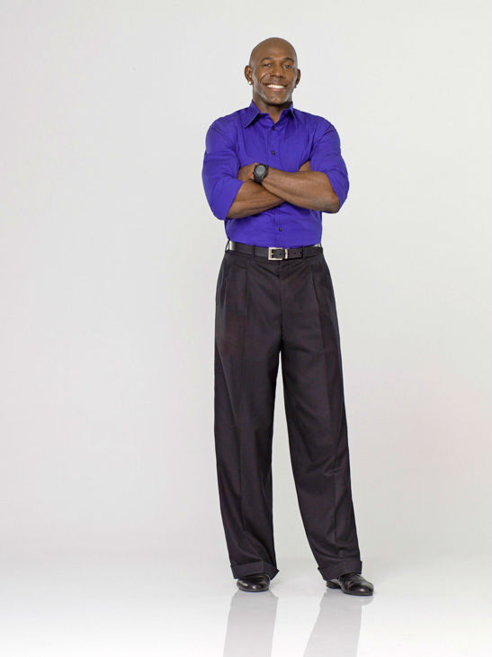 Donald Driver appears in an official cast photo for &#39;Dancing With The Stars&#39; season 14.  <span class=meta>(ABC Photo&#47; Bob D&#39;Amico)</span>