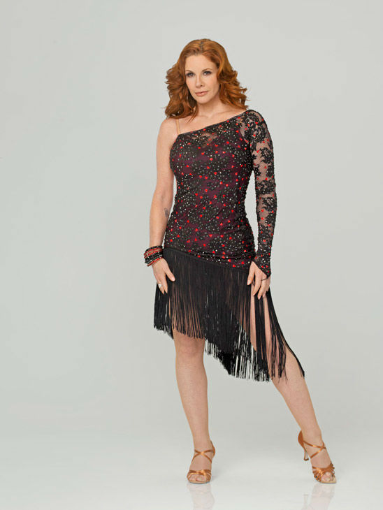 Melissa Gilbert appears in an official cast photo for 'Dancing With The Stars' season 14.