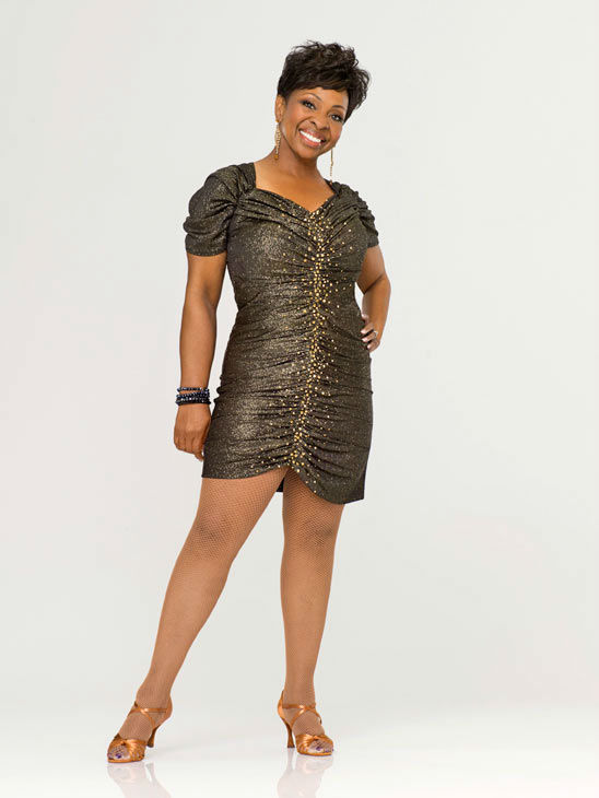 Gladys Knight appears in an offi