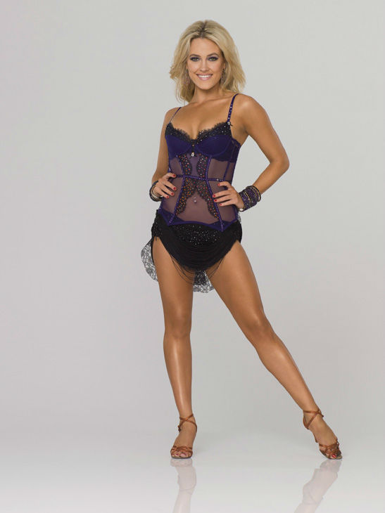 Peta Murgatroyd appears in an official cast photo for 'Dancing With The Stars' season 14.