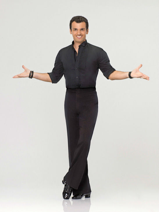 Tony Dovolani appears in an official cast photo...