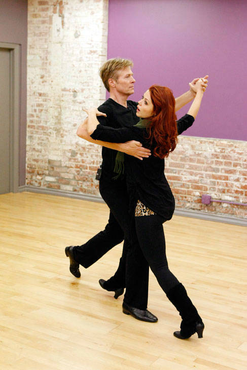 "<div class=""meta ""><span class=""caption-text "">Actor Jack Wagner and partner Anna Trebunskaya appear in a rehearsal photo for season 14 of 'Dancing With the Stars.'  (ABC Photo/ Rick Rowell)</span></div>"