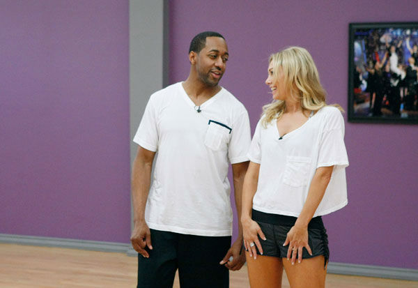 "<div class=""meta ""><span class=""caption-text "">Actor Jaleel White and partner Kym Johnson appear in a rehearsal photo for season 14 of 'Dancing With the Stars.'  (ABC Photo/ Rick Rowell)</span></div>"
