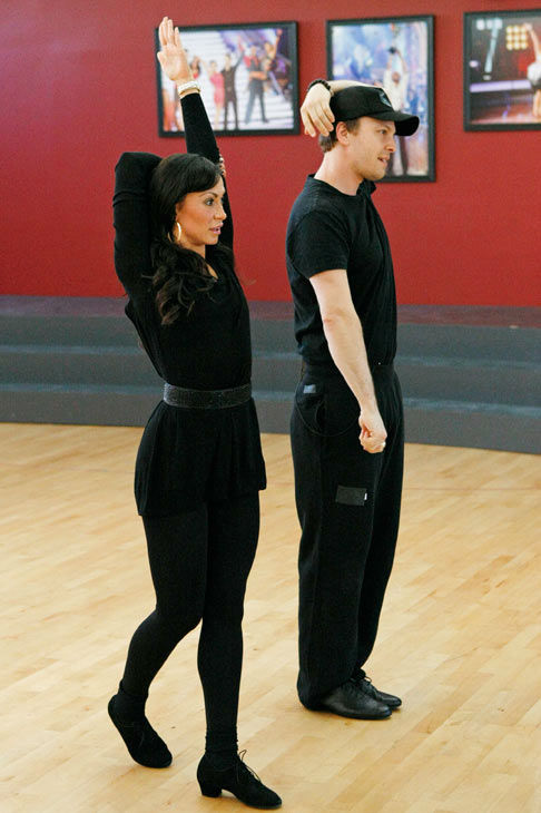 Singer Gavin DeGraw and partner Karina Smirnoff appear in a rehearsal photo for season 14 of &#39;Dancing With the Stars.&#39;  <span class=meta>(ABC Photo&#47; Rick Rowell)</span>