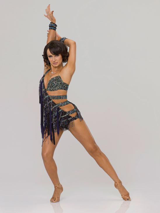 Karina Smirnoff appears in an official cast...