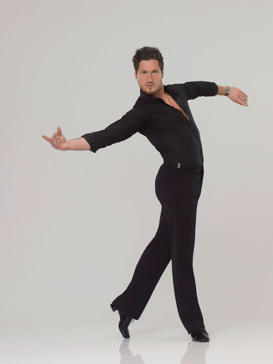 "<div class=""meta ""><span class=""caption-text "">Val Chmerkovskiy appears in an official cast photo for 'Dancing With The Stars' season 14. (ABC Photo/ Bob D'Amico)</span></div>"