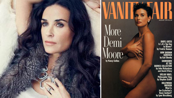 Demi Moore makes an appearance in Ann Taylor's...