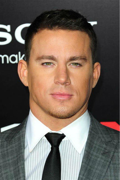 The &#39;Windsor-Knot&#39; stare: Channing Tatum appears at the premiere of &#39;21 Jump Street&#39; in Hollywood, California on March 13, 2012. <span class=meta>(Michael Williams &#47; Startraksphoto.com)</span>