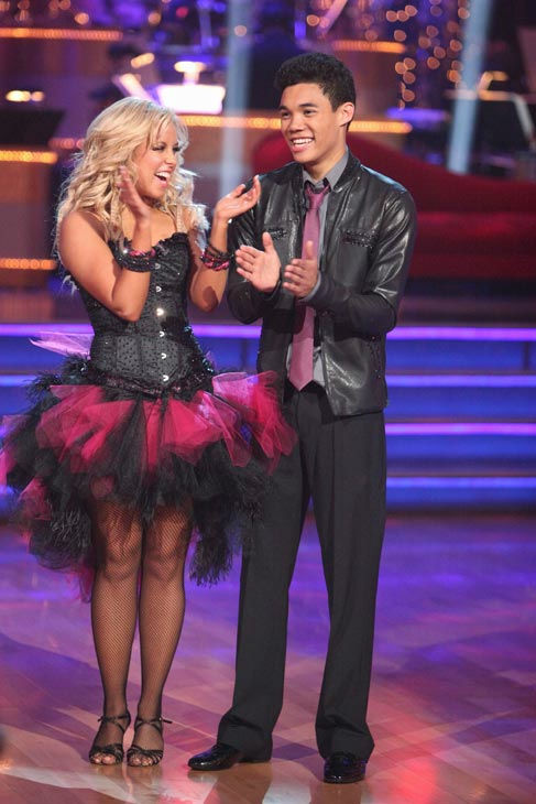 Disney Channel star Roshon Fegan and his partner Chelsie Hightower received 23 out of 30 points from the judges for their cha cha on the season premiere of &#39;Dancing With The Stars,&#39; which aired on March 19, 2012. <span class=meta>(ABC Photo&#47; Adam Taylor)</span>