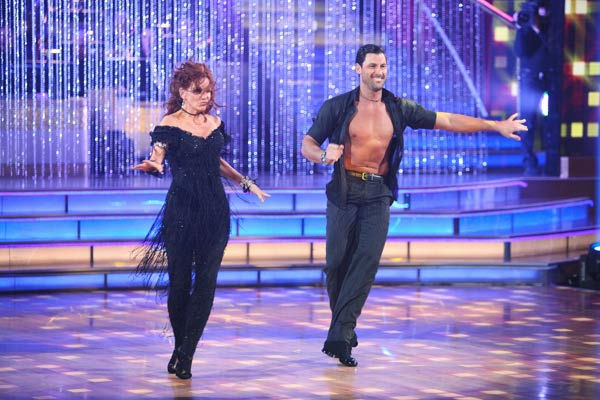Melissa Gilbert, a former child star who played Laura on &#39;Little House on the Prairie,&#39; and her partner Maksim Chmerkovskiy received 20 out of 30 points from the judges for their cha cha on the season premiere of &#39;Dancing With The Stars,&#39; which aired on March 19, 2012. <span class=meta>(ABC Photo&#47; Adam Taylor)</span>