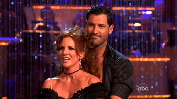 "<div class=""meta ""><span class=""caption-text "">Melissa Gilbert, a former child star who played Laura on 'Little House on  the Prairie,' and her partner Maksim Chmerkovskiy received 20 out of 30  points from the judges for their cha cha on the season premiere of 'Dancing  With The Stars,' which aired on March 19, 2012. (ABC Photo/ Adam Taylor)</span></div>"
