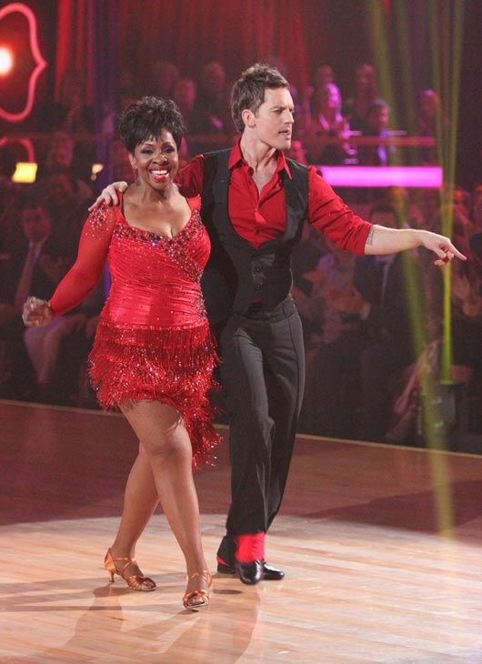 R&B legend Gladys Knight and her partner Tristan MacManus received 23 out of 30 points from the judges for their cha cha on the season premiere of 'Dancing With The Stars,' which aired on March 19, 2012.