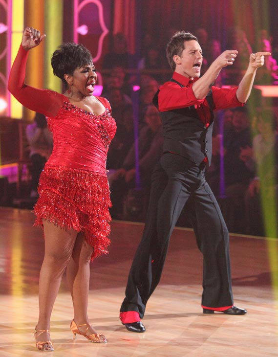 "<div class=""meta image-caption""><div class=""origin-logo origin-image ""><span></span></div><span class=""caption-text"">R&B legend Gladys Knight and her partner Tristan MacManus received 23 out of 30 points from the judges for their cha cha on the season premiere of 'Dancing With The Stars,' which aired on March 19, 2012. (ABC Photo/ Adam Taylor)</span></div>"