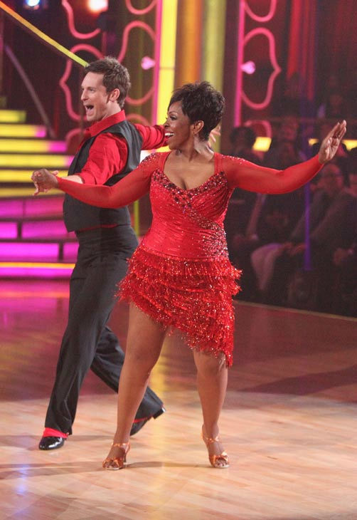R&#38;B legend Gladys Knight and her partner Tristan MacManus received 23 out of 30 points from the judges for their cha cha on the season premiere of &#39;Dancing With The Stars,&#39; which aired on March 19, 2012. <span class=meta>(ABC Photo&#47; Adam Taylor)</span>