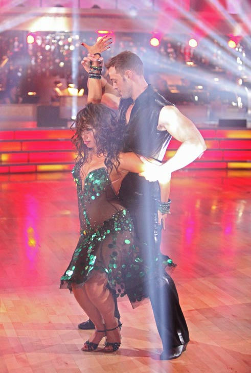 Telenovela star William Levy and his partner Cheryl Burke received 24 out of 30 points from the judges for their cha cha on the season premiere of &#39;Dancing With The Stars,&#39; which aired on March 19, 2012. <span class=meta>(ABC Photo&#47; Adam Taylor)</span>