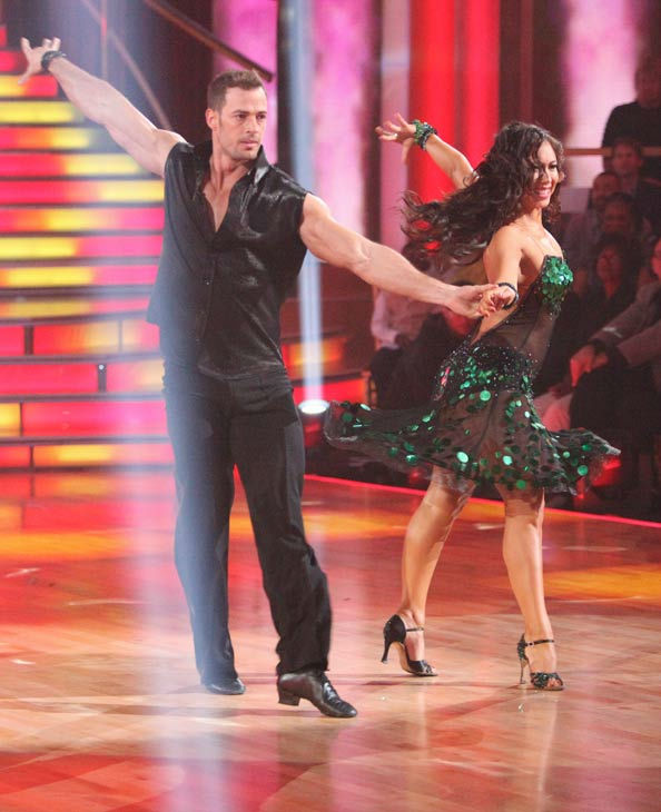 "<div class=""meta image-caption""><div class=""origin-logo origin-image ""><span></span></div><span class=""caption-text"">Telenovela star William Levy and his partner Cheryl Burke received 24 out of 30 points from the judges for their cha cha on the season premiere of 'Dancing With The Stars,' which aired on March 19, 2012. (ABC Photo/ Adam Taylor)</span></div>"