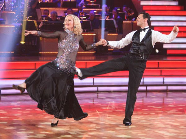"<div class=""meta image-caption""><div class=""origin-logo origin-image ""><span></span></div><span class=""caption-text"">Tennis legend Martina Navratilova and her partner Tony Dovolani received 20 out of 30 points from the judges for their foxtrot on the season premiere of 'Dancing With The Stars,' which aired on March 19, 2012. (ABC Photo/ Adam Taylor)</span></div>"