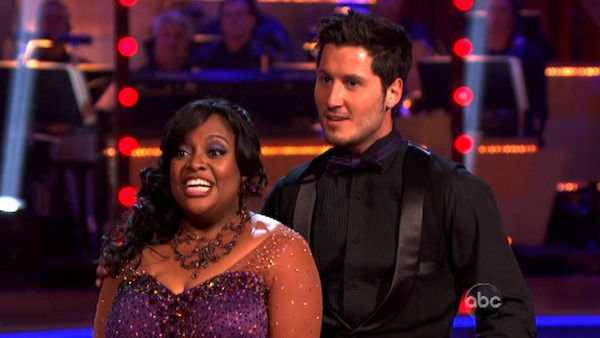&#39;The View&#39; co-host Sherri Shepherd and her partner Valentin Chmerkovskiy received 23 out of 30 points from the judges for their foxtrot on the season premiere of &#39;Dancing With The Stars,&#39; which aired on March 19, 2012. <span class=meta>(ABC Photo&#47; Adam Taylor)</span>