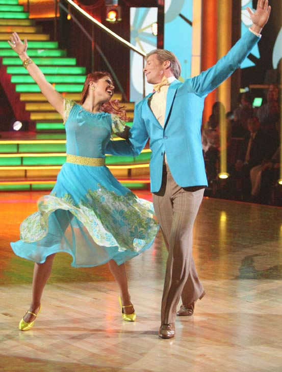 Jack Wagner, formerly of &#39;Melrose Place,&#39; and his partner Anna Trebunskaya received 20 out of 30 points from the judges for their foxtrot on the season premiere of &#39;Dancing With The Stars,&#39; which aired on March 19, 2012. <span class=meta>(ABC Photo&#47; Adam Taylor)</span>