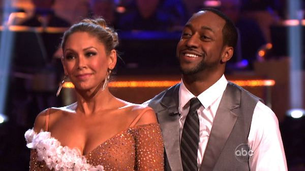 Jaleel White, who played Steve Urkel on 'Family Matters,' and his partner Kym Johnson received 26 out of 30 points from the judges for their foxtrot on the season premiere of 'Dancing With The Stars,' which aired on March 19, 2012.