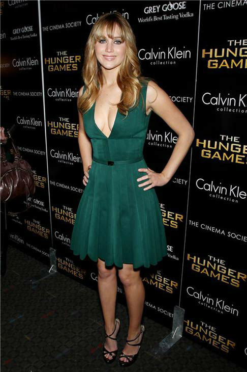 Jennifer Lawrence appears at the New York screening of &#39;The Hunger Games on March 20, 2012. <span class=meta>(Marion Curtis&#47;Startraksphoto.com)</span>