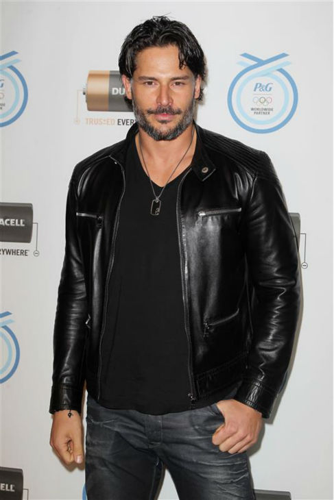 "<div class=""meta ""><span class=""caption-text "">The 'Cool-Rider' stare: Joe Manganiello appears at Duracell's kick-off event for their 'Rely on Copper to Go for the Gold' Olympic Games program in New York on March 19, 2012. (Amanda Schwab / Startraksphoto.com)</span></div>"