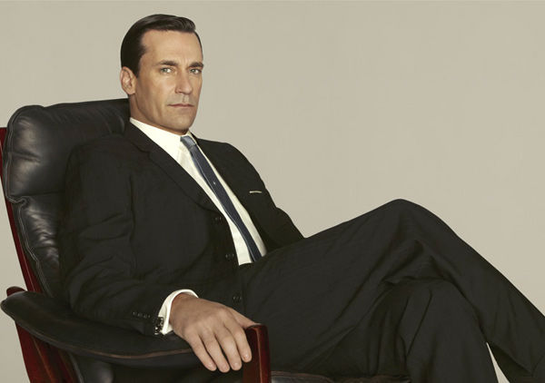 Jon Hamm (Don Draper) appears in a promotional...