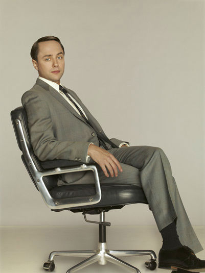 "<div class=""meta ""><span class=""caption-text "">Vincent Kartheiser (Pete Campbell) appears in a promotional photo for season five of AMC's 'Mad Men,' which premieres on March 25, 2012. (Frank Ockenfels 3 / AMC)</span></div>"