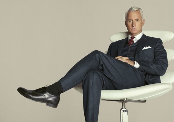 John Slattery &#40;Roger Sterling&#41; appears in a promotional photo for season five of AMC&#39;s &#39;Mad Men,&#39; which premieres on March 25, 2012. <span class=meta>(Frank Ockenfels 3 &#47; AMC)</span>