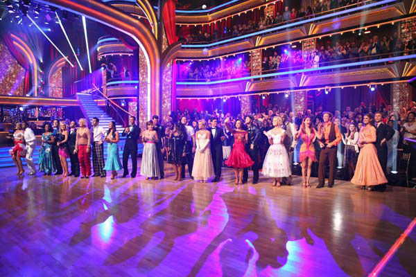 The season 14 cast prepares for week two of 'Dancing With The Stars,' which aired on March 26, 2012.