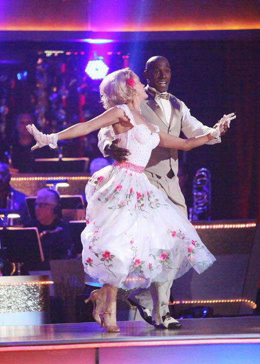 Football star Donald Driver and his partner Peta Murgatroyd re